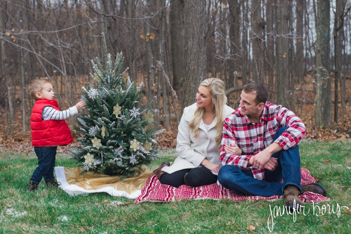 The VanBuskirk's | Northville Family Christmas Photographer